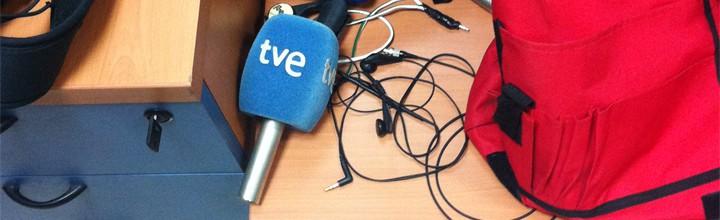 La productora audiovisual GDP ha empezado a trabajar para RTVE cubriendo la grabación de noticias y contenidos de la televisión pública en Alicante.