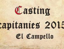 """Producción y proyección de vídeos en el evento """"Presentació de capitanies 2015"""" en El Campello"""