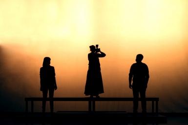 Producción de vídeo para Almadraba teatro: vídeo resumen de la obra y tráiler promocional. Productora audiovisual en Alicante GDP.
