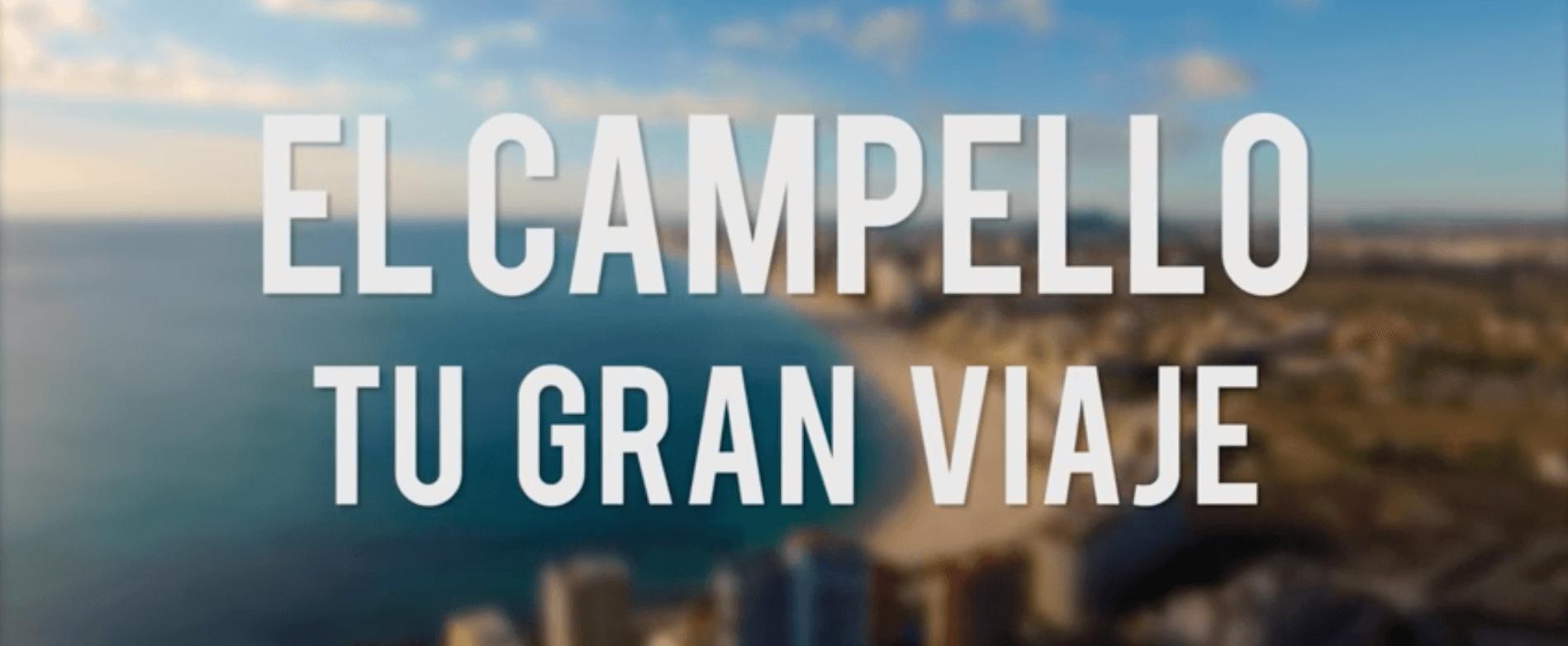 """Bajo el lema """"El Campello, Tu Gran Viaje"""", la productora audiovisual de Alicante Producciones GDP produjo el spot campaña de El Campello Turismo."""