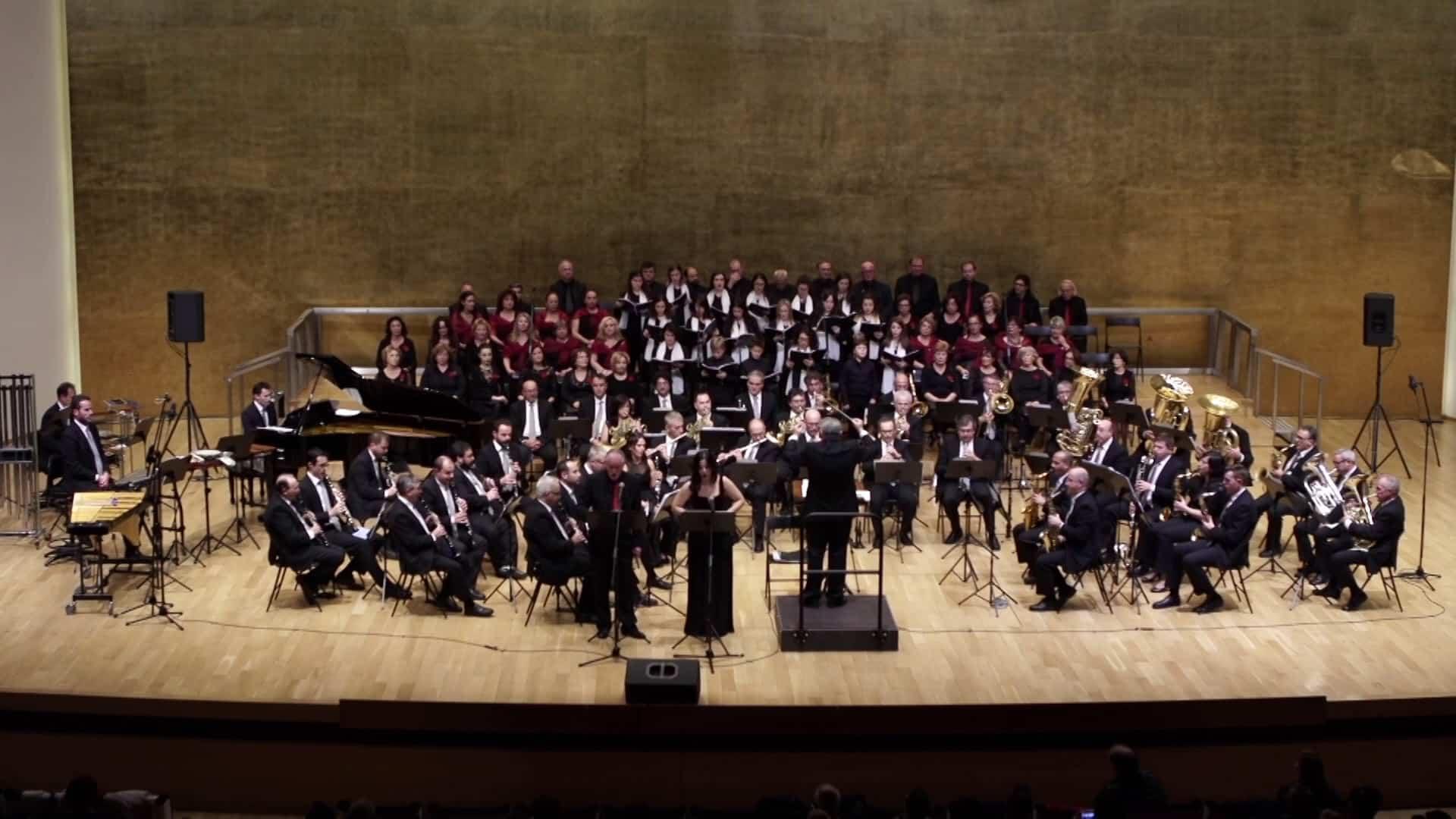 Grabación del Concierto de Navidad Banda Sinfónica Municipal de Alicante