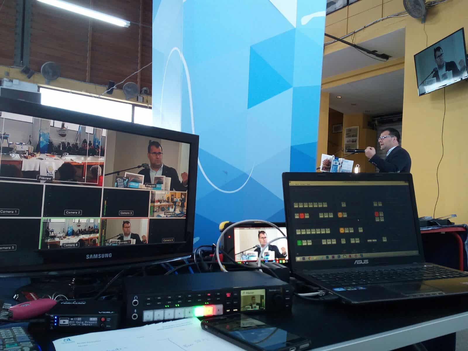En la productora audiovisual de Alicante, Producciones GDP, llevamos a cabo cualquier tipo de retransmisión streaming que necesites.