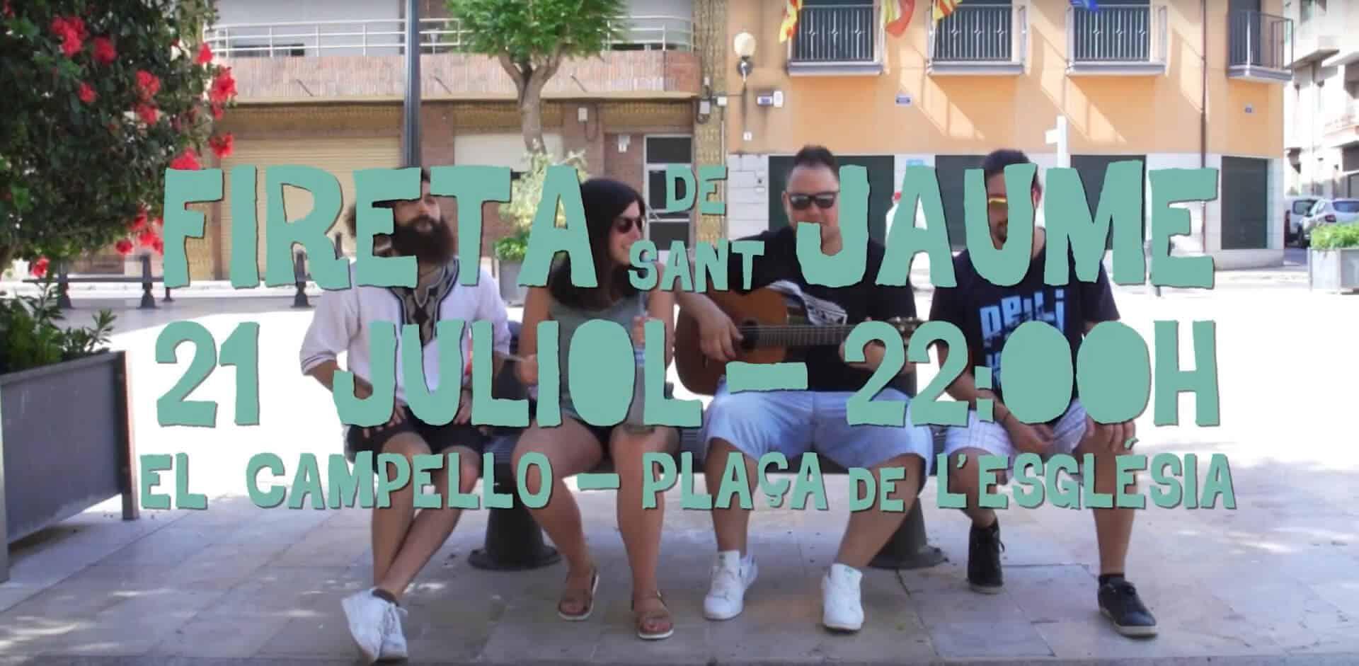 Spot Promocional Fireta de Sant Jaume 2017