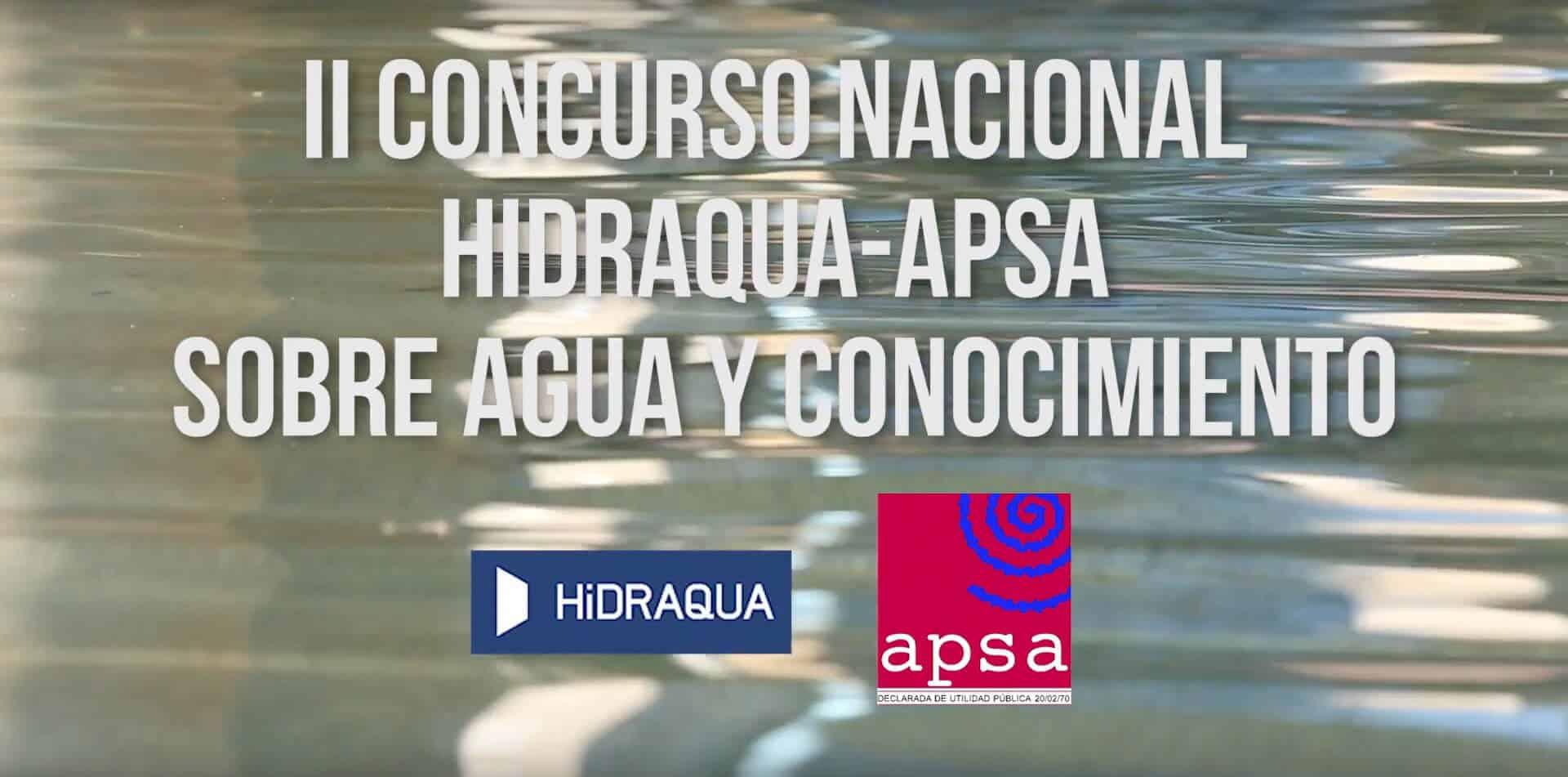 Spot Concurso Nacional Hidraqua-APSA 2017
