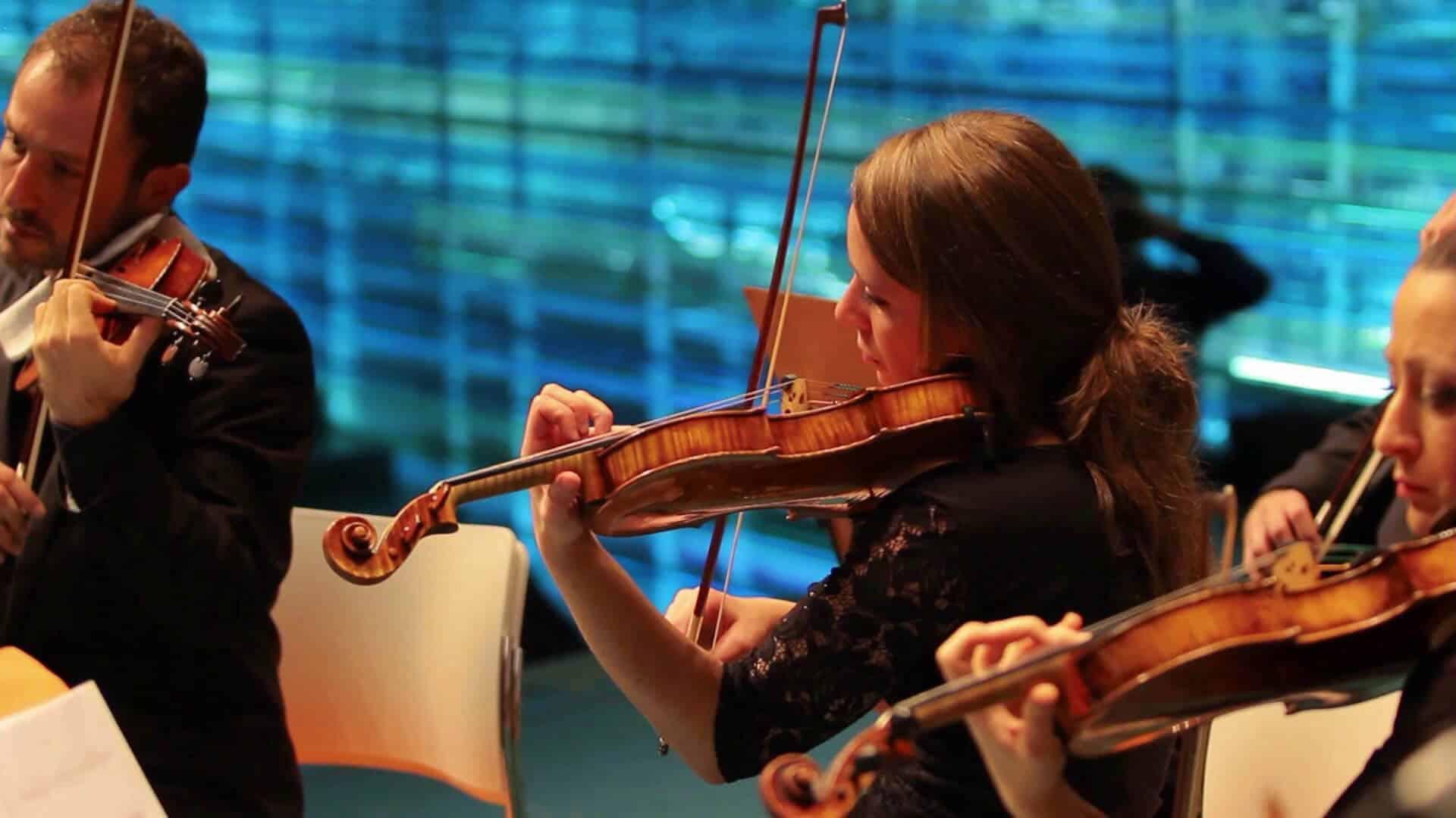 La productora audiovisual de Alicante Producciones GDP llevó a cabo el vídeo promocional de la Orquesta de Cámara Solistas Mediterráneos.