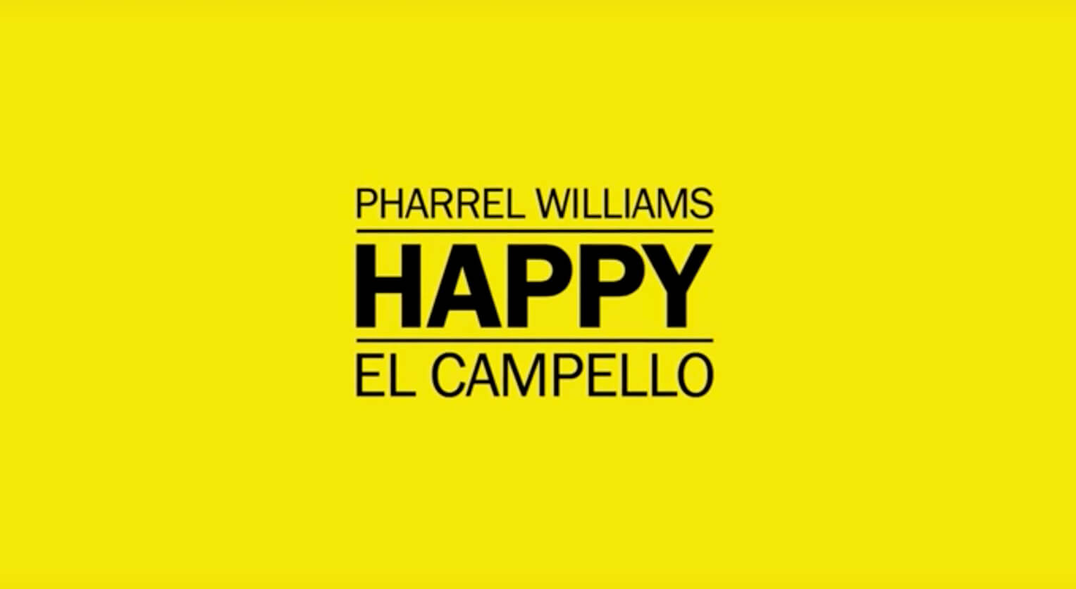 Happy (We are from El Campello) - Pharrell Williams